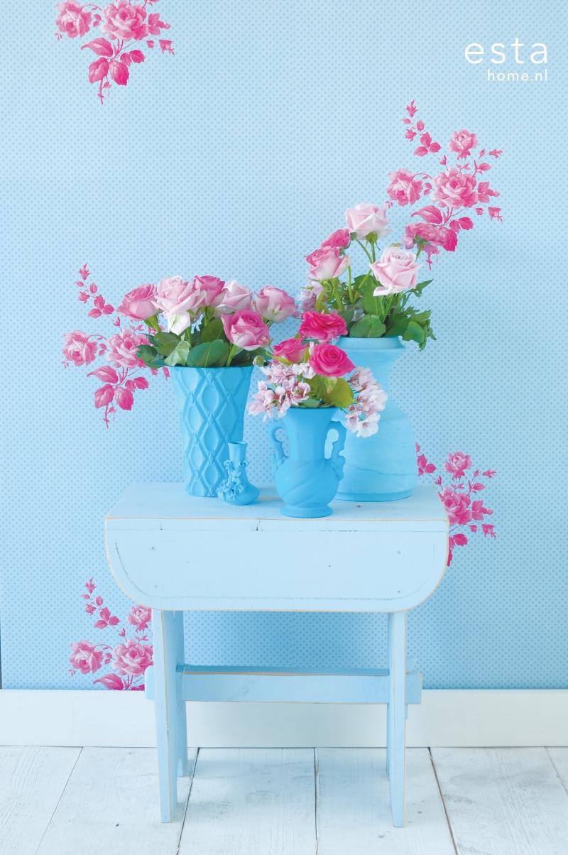 Tapeten Blumen