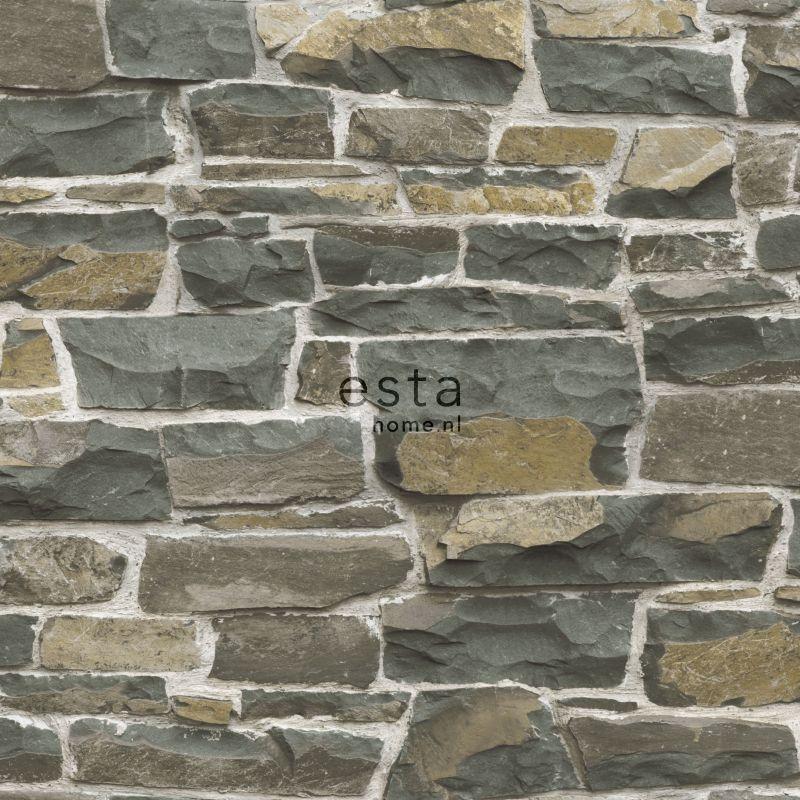 tapete steinmauer