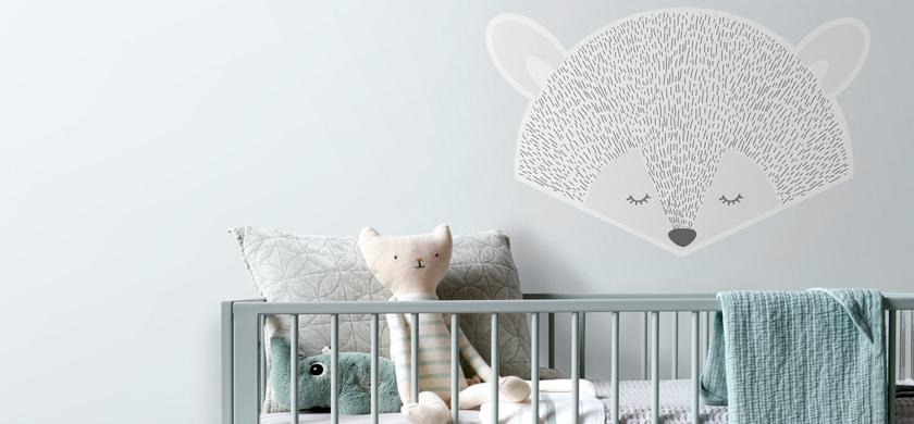 Wandtattoo Babyzimmer
