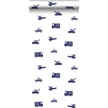Tapete Autos Blau