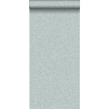 Tapete Beton-Optik Meeresgrün