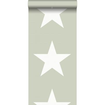 Tapete Sterne Mintgrün
