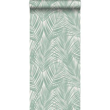 Tapete Palmenblätter Mintgrün
