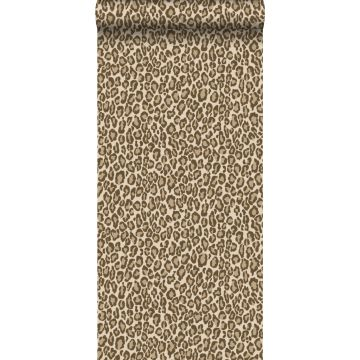 Tapete Leopardenmuster Braun