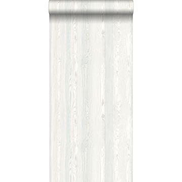 Tapete Holzoptik Weiß