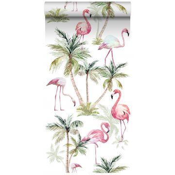 XXLVliestapete Flamingos Rosa