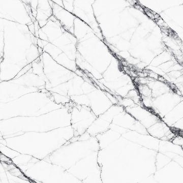Fototapete Marmor-Optik Weiß und Grau