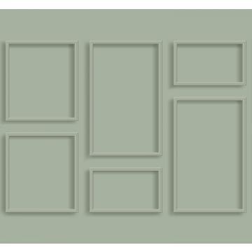 Fototapete Holz-Wandverkleidung Graugrün