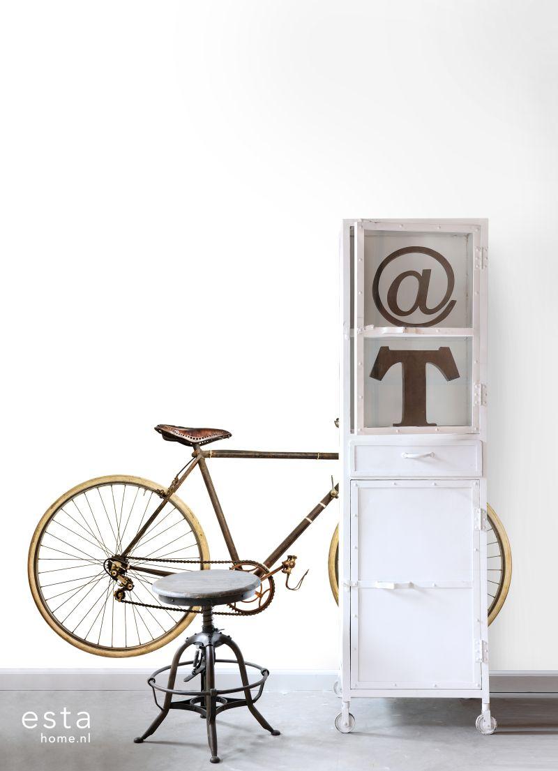 Fototapete mit vintage Fahrrad